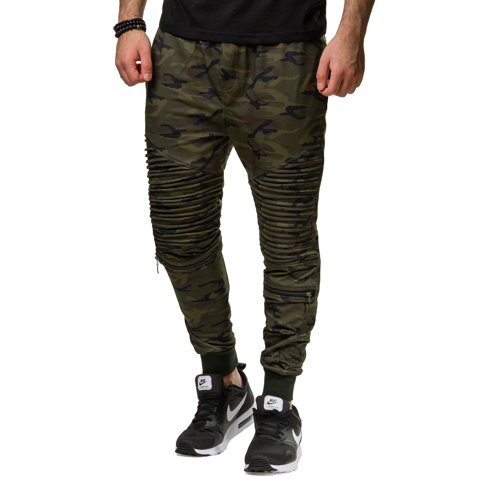 ci borg 568 jogginghose zipper stepp hose camouflage pant. Black Bedroom Furniture Sets. Home Design Ideas